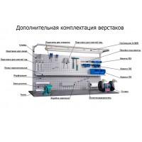 Комплектующие и принадлежности к производственной мебели