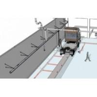 Рельсовые вытяжные системы для линий инструментального контроля